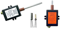 quartz resonator temperature sensor