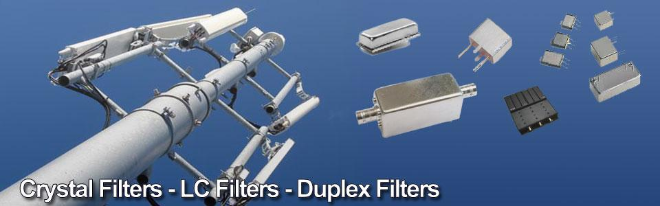 crystal filter, lc filter, duplex filter